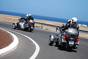 Can Am Spyder Fuerteventura
