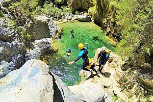 Canyoning bei Granada - Schluchteln am vielfältigen Rio Verde