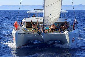 Segelausflug Santorini