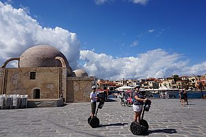 chania sightseeing mit segway