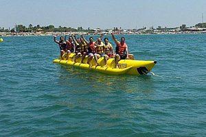 Fahrt mit dem Bananaboot Chipiona an der Costa de la Luz