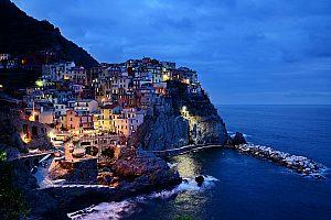 Abendlicht in der Cinque Terre