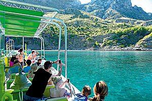 Naturpark Llevant Boot Meereshöhlen und Buchten