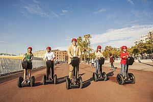 Kurze und lange Segway Touren in Barcelona - Sightseeing und Fahrspass