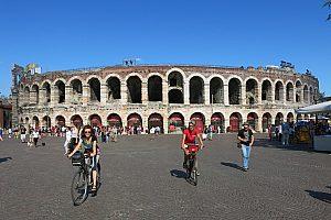 Verona mit dem Fahrrad erkunden: 3-stündige Tour mit Guide