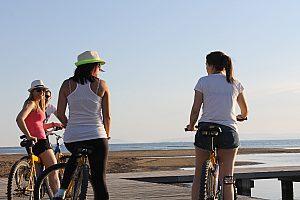 Malerische Kayak- und Fahrrad-Tour durch das Ebrodelta