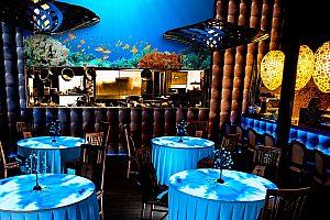 Dinnershow mit Tisch-Projektionen WOW! Teneriffa