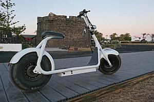 Elektrischer Harley Roller auf Fuerteventura