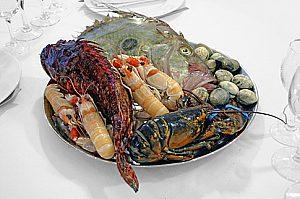 Fisch und Meeresfrüchte im Restaurant Ca´n Jordi in Palma de Mallorca