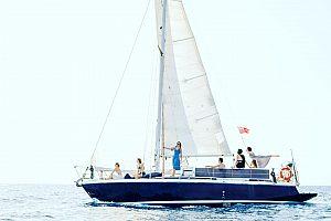 Segeltörn um Formentera