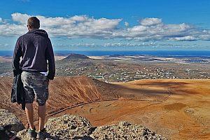 Ausblick genießen auf Fuerteventura