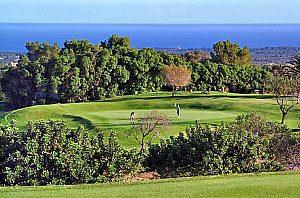 Golf spielen auf dem Golfplatz Vall d´Or in Porto Colom im Osten Mallorcas