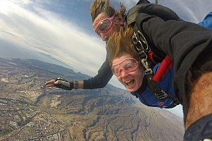 Gran Canaria Fallschirm-Gleitflug