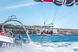 Parasailing am Anfi Beach