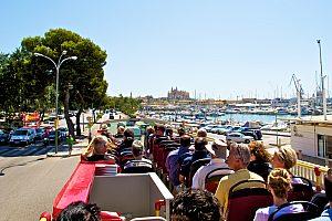 Stadtrundfahrt Palma de Mallorca Bus