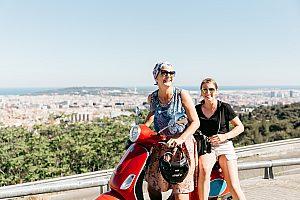 die beste Vespa Tour Barcelona