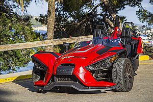 Roadster Trike Tour auf Mallorca entlang der Calvia Küste