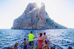Insel vor Ibiza Sehenswürdigkeit im Meer