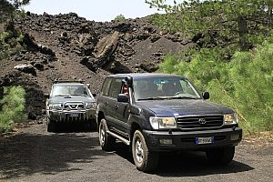 Jeep Safari zum Ätna (Etna) - imposante Vulkantour auf Sizilien