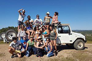 Jeep Safari Albufeira an der Algarve in Portugal