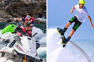 Flyboard & Jetski-Beach-Tour in der Bucht von Alcúdia (Norden)