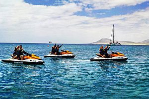 Jetski Safari auf Fuerteventura ab Corralejo (Norden)