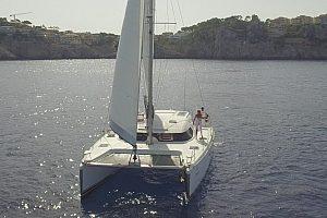 Mit dem Katamaran segeln