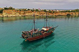 Kreta Bootstour Piratenschiff