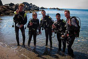 PADI-Tauchkurs in La Manga / Mar Menor: Tauchen lernen, Küsten- oder Boots-Tauchgänge