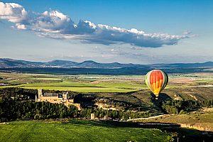 Heißluftballon Fahrt in Madrid
