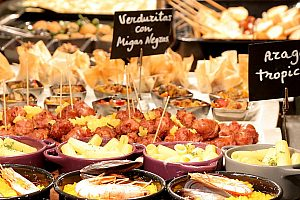 traditionelle Tapas in Malaga