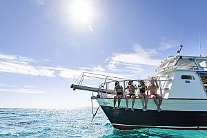 Traumwetter beim Bootsausflug Playa de Palma