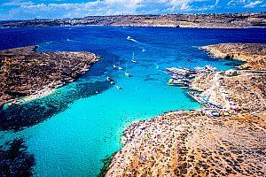 Malta Bootstour Blaue Lagune