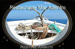 Fischspezialitäten im Restaurant in Andratx im Südwesten Mallorcas