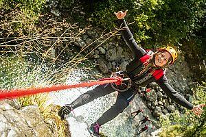 Canyoning Gardasee Italien 6