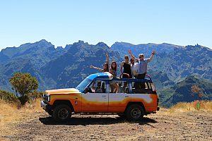 Madeira Jeep Tour zu den Bergen