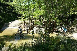 Moutainbike Tour am Marathon-Stausee ab Athen