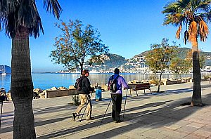 Nordic Walking Tour in Palma de Mallorca sowie inselweit