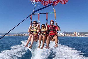 Parasailing in Jávea - aufregendes Flugabenteuer und Bootstour an der Costa Blanca