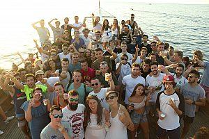 Partyboot auf Malta