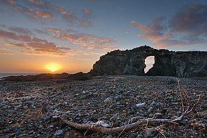 Wanderungen Fuerteventura raue Landschaft an der Westküste