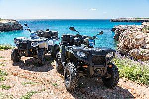 Quad fahren auf Mallorca Küste
