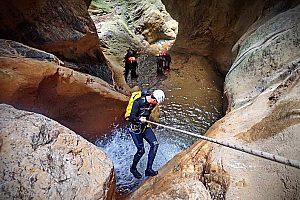 Nass Canyoning auf Kreta