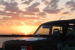 Jeep Tour zum Sonnenuntergang