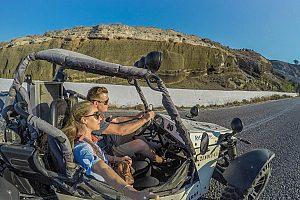 Mit dem Buggy Santorini erkunden
