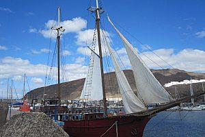 Segelboot auf Fuerteventura