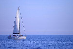Segeln vor Sanremo