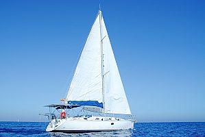 Wunderschöne Costa del Sol im Segelboot