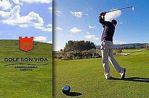 Golf spielen auf Mallorca - Abschlag in Son Vida