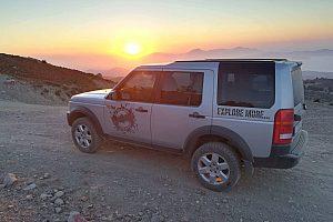Sonnenuntergang Jeep Tour auf Kreta